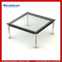 LC10-P Low Table 70x70
