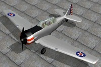 3d north american harvard
