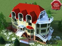 villa v3 3d 3ds