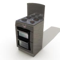 3d model cook cooker
