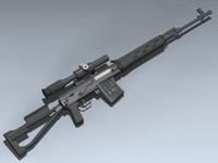 3ds max svds dragunov
