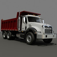 Dump truck Mack
