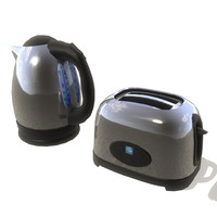 Kettle and Toaster set 001