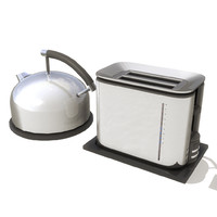 Kettle and Toaster set 005