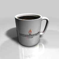 cinema4d simple coffee mug