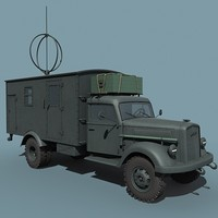 german wwii opel blitz 3ds