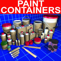 Paint Container Collection 01