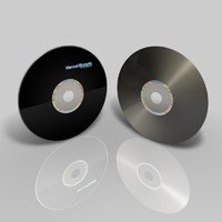 simple cd dvd 3d model