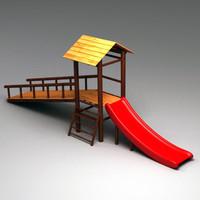3d wooden slider