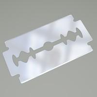 razor razorblade blade 3d model