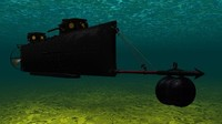 maya confederate submarine hunley