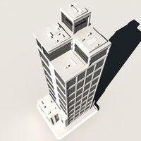 3ds max skyscraper building
