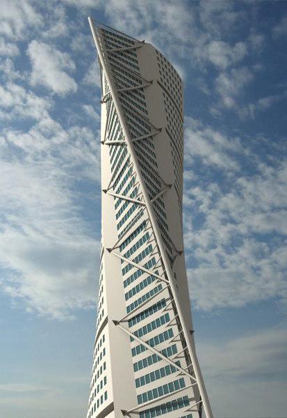 3d Model Skyscrapers 3d Model Hsb Turning Torso