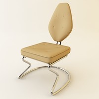 3ds max contemporary chair