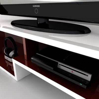 3d c4d home entertainment set - Home Entertainment Set... by Pekdemir