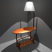lamp table 3d model