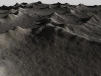 landscape mountainous 3d c4d