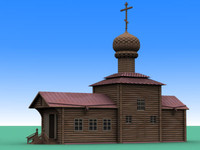 church orthodox 3d 3ds