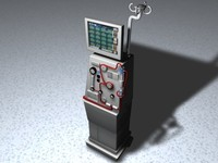 3d model dialysis machine