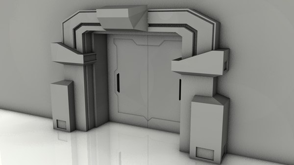 3ds max gate star wars - door3.c4d... by motr.cz