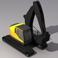 ecr235c excavator crawler 3ds