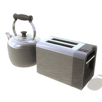 Kettle and Toaster set 004