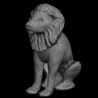 lion statue max