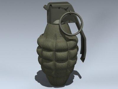 Mk II Hand Grenade