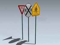 signs series 2 3d model