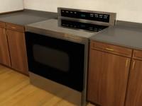 free stove 9 3d model