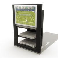 maya flat television