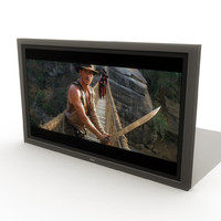3d ma flat television