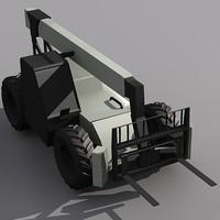 3d vr-1056c fork lift