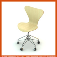 AJ Series 7 Swivel Chair 3117