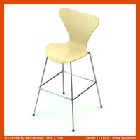 AJ Series 7 High Stool 3197