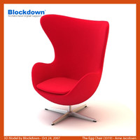 AJ Egg Chair Automatic Return 3319