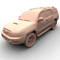 3d toyota 4runner sport model