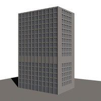 office building 3d dxf
