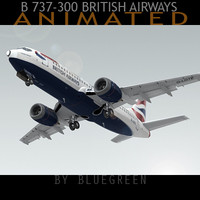 Boeing 737-300 British Airways (A)