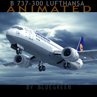 Boeing 737-300 Lufthansa (A)