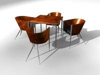 modern oak chair dining set max