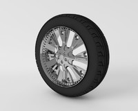 Custom Big Car Wheel