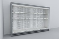 3ds fridge shelving