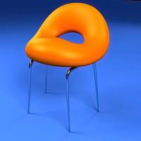 modern chair dwg