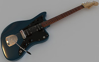 3ds max fender jazzmaster electric guitar