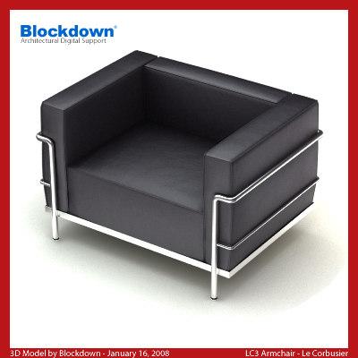LC3 Armchair
