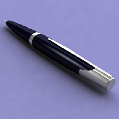 pen pencil 3ds - Pen and Pencil Collection... by MancuZ28