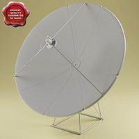 3d satellite aerial v4 model