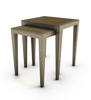 3d model endtable entourage