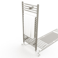 3d towel rack model